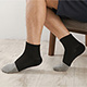 源之氣-竹炭短統運動襪-男女共用-12雙組