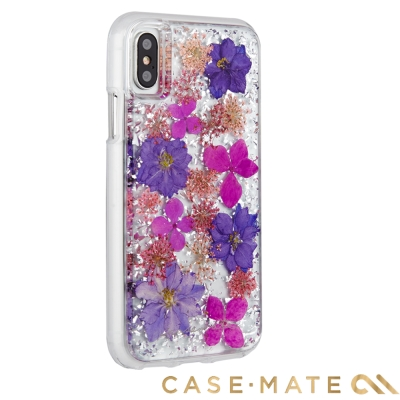 美國 Case-Mate iPhone X Karat Petals 真實花朵手...