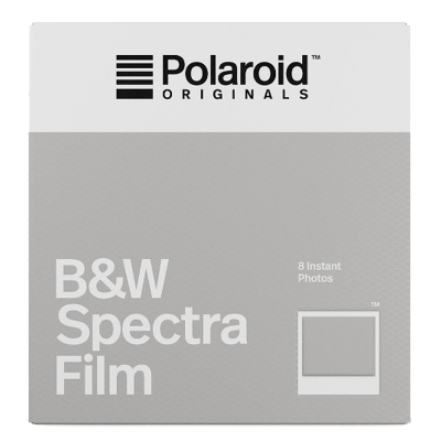 Polaroid B&W Film for Spectra 黑白底片(白框)/2盒