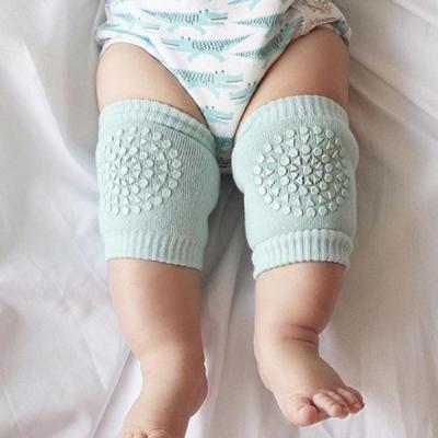 GoBabyGo 丹麥 薄荷綠款專業防滑寶寶爬行護膝