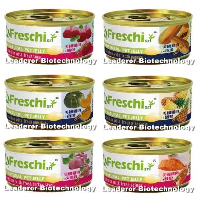 艾富鮮Freschi 美國雞肉 鳳梨 肉凍狗罐 70g