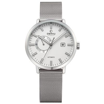 OBAKU 單眼羅伯機械米蘭腕錶-V 210 GTCIMC/ 45 mm