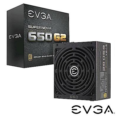 艾維克EVGA SuperNOVA 650W G2 80PLUS 金牌全模組電源供應器