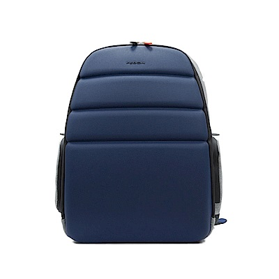 FEDON 1919 Ninja 輕便15吋兩側雙袋防水電腦背包-藍