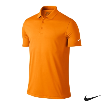 NIKE GOLF VICTORY SOLID POLO衫-橘725519-873