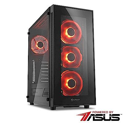 華碩B360平台[GAMING系列雷霆霸王]i5六核GTX1060獨顯SSD電玩機