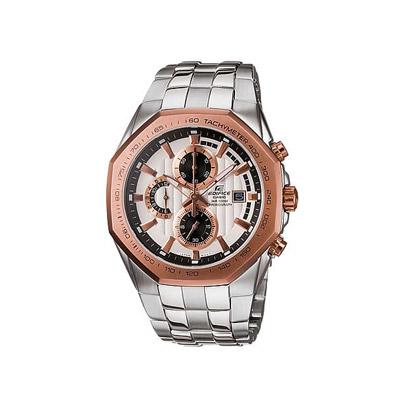 EDIFICE 迅黑時尚計時腕錶(白)-42mm