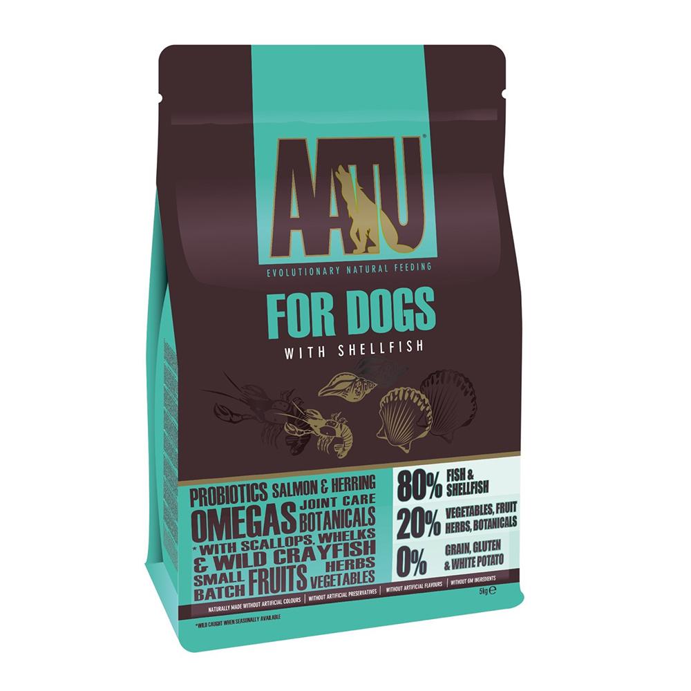 AATU 奧圖  嚴選海鮮總匯 低敏無穀挑嘴全齡犬糧 5kg
