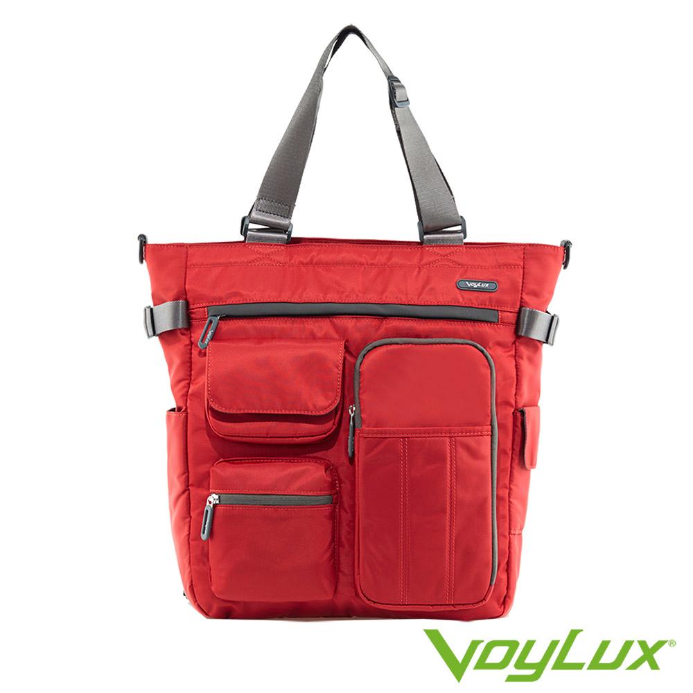 VoyLux 伯勒仕-百貨專櫃-防潑水-超輕量-四用托特包 3681312-紅色