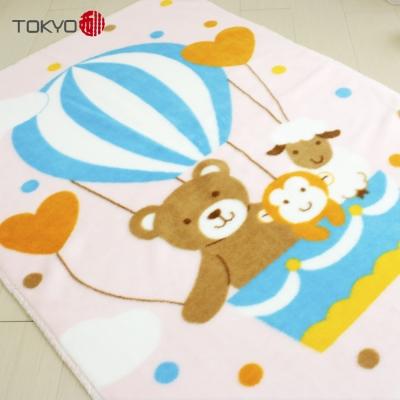 Tokyo西川 熱氣球童毯 粉色