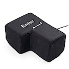 LineQ 大力搥鍵盤Enter鍵造型減壓抱枕