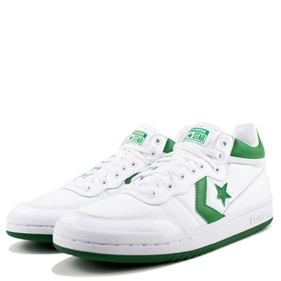 CONVERSE-FASTBREAK 83男 女籃球鞋-白
