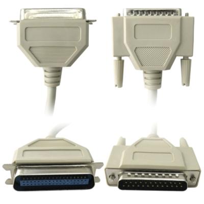 Bravo-u DB25/DB36 標準印表機連接線-公對母(3米)