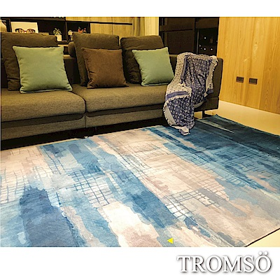 TROMSO珊瑚絨短毛地毯-特大F格調時尚230x160cm