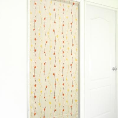 布安於室-小花花遮光風水簾