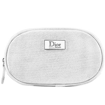 Dior 迪奧 橢圓銀星燦Beaute美妝包