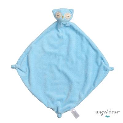 美國 Angel Dear 動物嬰兒安撫巾 (藍色貓頭鷹)