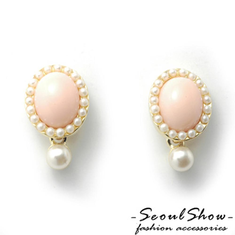 【Seoul Show】韓國直送  依莎貝拉  針式耳環