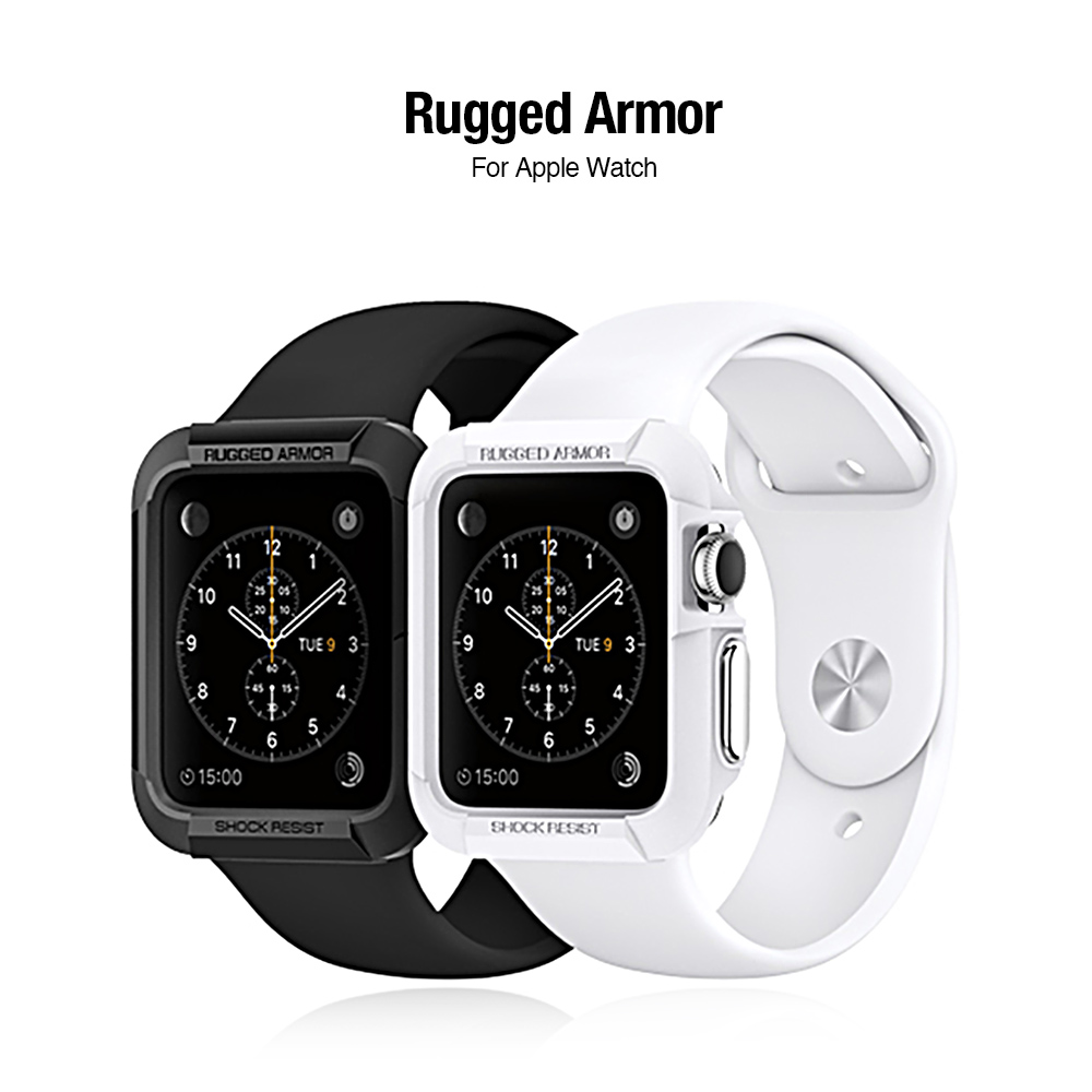 Spigen Apple Watch (42mm) Rugged Armor保護殼