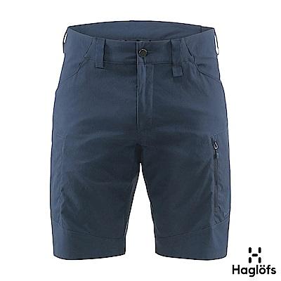 Haglofs 男 Mid Fjell 彈性防潑水短褲 塔恩藍色