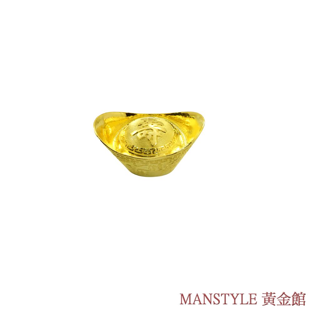 MANSTYLE 壽字黃金元寶 (1錢)