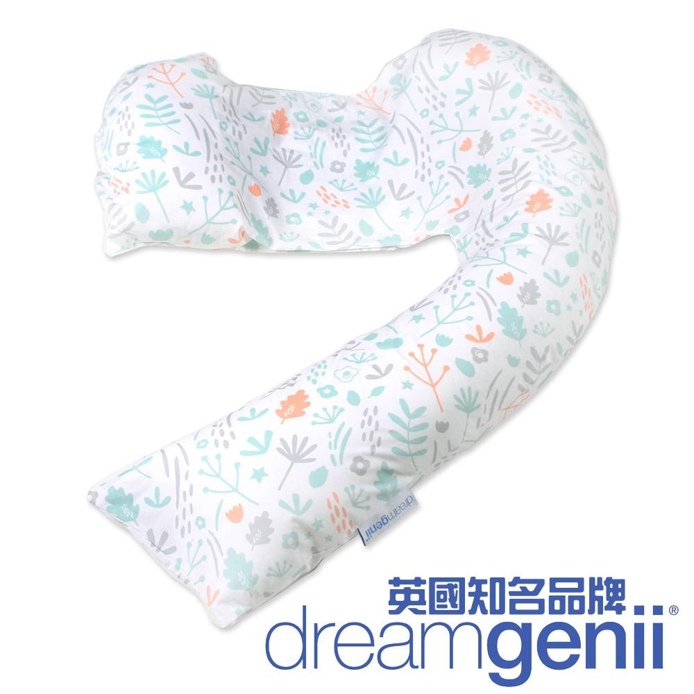 英國 Dreamgenii 多功能孕婦枕 (繽紛花園)