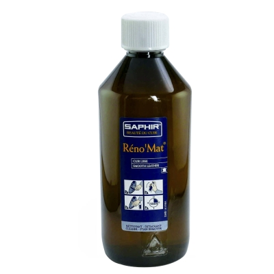 【SAPHIR莎菲爾】萬用皮革清潔露(大罐500ml)-深層清潔各種皮革,清潔效果絕佳