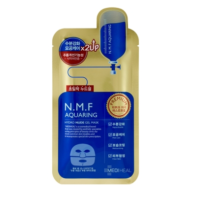 MEDIHEAL 金裝雙倍特強保濕導入裸貼水凝膠面膜 10片/盒