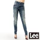 Lee 牛仔褲439 中腰標準修身窄管-女款(雪花中藍) LL120515247