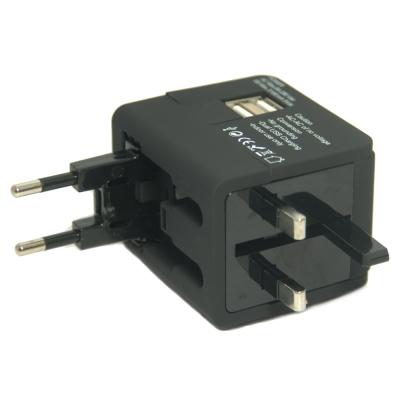 便利社 530UA 雙USB 旅行萬用轉接頭 3.1A