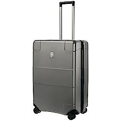 VICTORINOX 瑞士維氏LEXICON硬殼26吋行李箱-鈦金屬