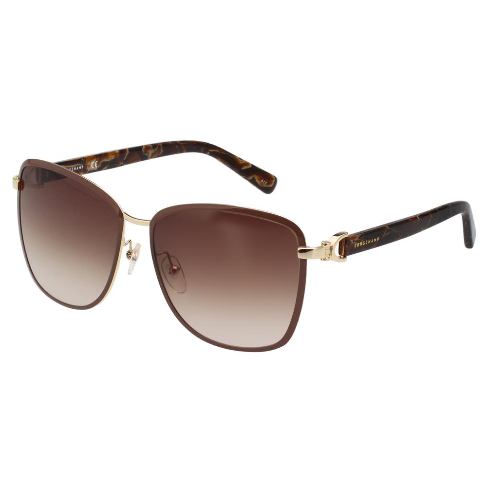 LONGCHAMP 太陽眼鏡 (咖啡色) LO103S