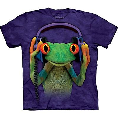 摩達客 美國進口The Mountain DJ和平蛙 純棉環保短袖T恤
