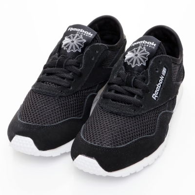 24H-REEBOK-女休閒鞋V71883-黑