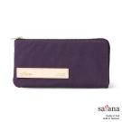 satana - 簡約實用長夾 - 紫色