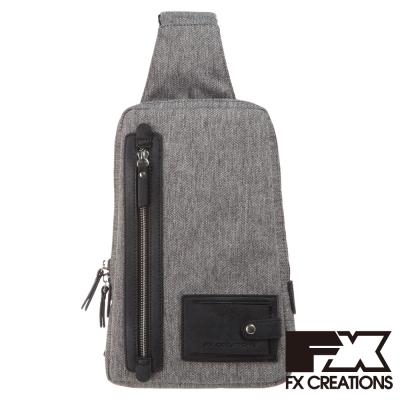 FX CREATIONS 單肩包 淺灰 KAG69638-21