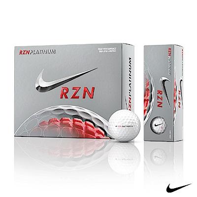 NIKE GOLF RZN BLACK 專業高爾夫球(4層球/組)白