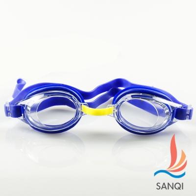 SANQI三奇 歡樂一夏 兒童泳鏡戲水必備(803-深藍F)