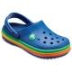 Crocs 卡駱馳(童鞋) 彩虹小卡駱班 205205-4GX product thumbnail 1