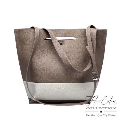 DF Flor Eden - 歐系時尚大作牛皮款手提斜背多way包-共2色