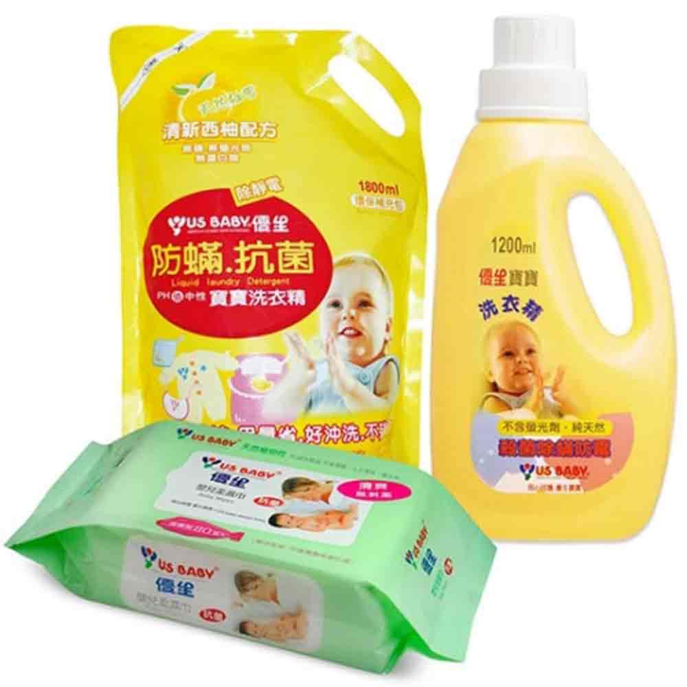優生寶寶防蹣抗菌洗衣組