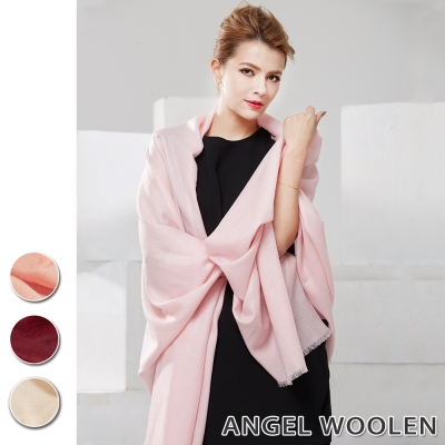 Angel Woolen 極緻羔羊毛鑽石紋披肩 圍巾(共四色)