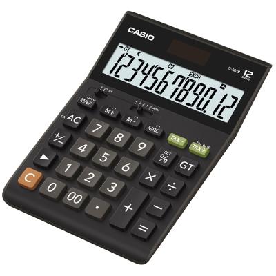 CASIO卡西歐12位元大字幕桌上型計算機D-120B