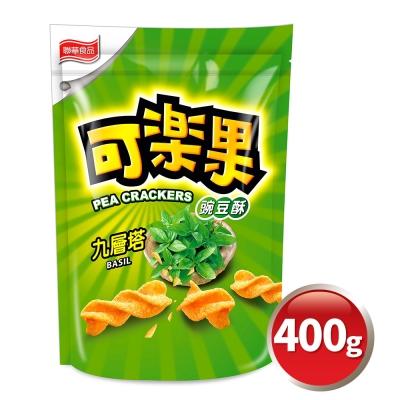 可樂果 豌豆酥-九層塔(400g)