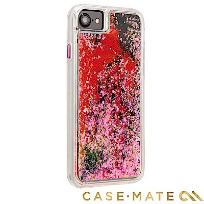 美國 Case-Mate iPhone 8 Waterfall 亮粉瀑布 - 螢...
