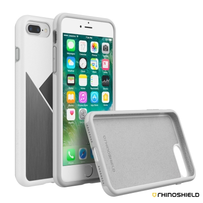 犀牛盾SolidSuit 防摔髮絲紋紋路手機殼 - iPhone 7 Plus