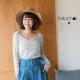 東京著衣 性感美背條紋百搭上衣-S.M(共二色)
