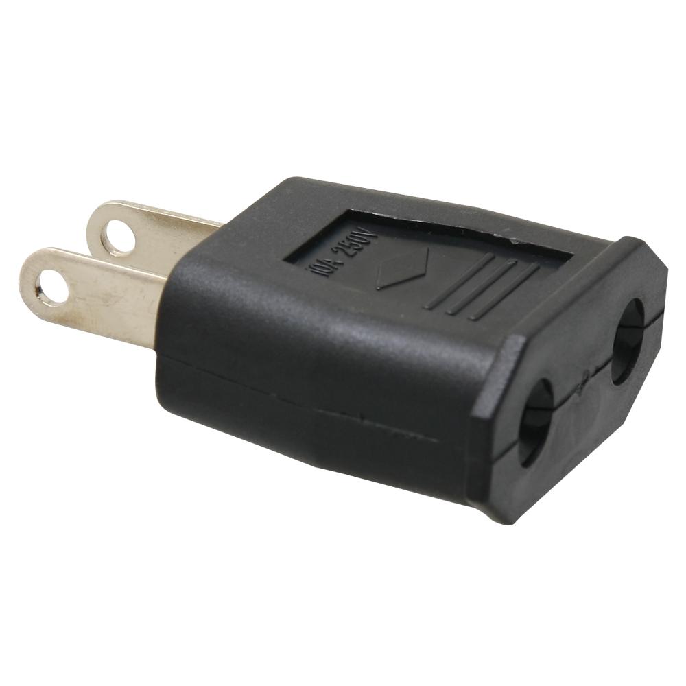 Kamera 圓轉扁轉換插頭-歐規220V轉美規110V(5入)