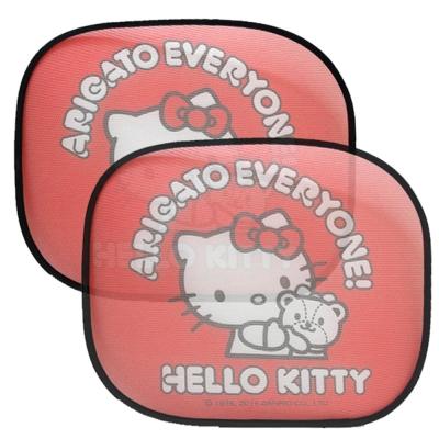 Hello Kitty 40周年 側窗遮陽板小圓弧