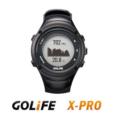 GOLiFE GoWatch X-PRO 全方位智慧戶外運動GPS腕錶-黑色